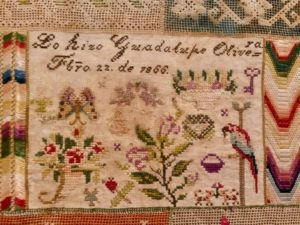 """B"""" for Bordados: An Exhibition of Embroidered Textiles from"""